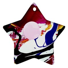 Immediate Attraction 8 Star Ornament (two Sides)