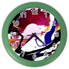 Immediate Attraction 8 Color Wall Clocks