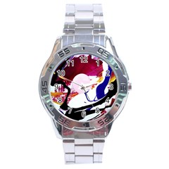 Immediate Attraction 8 Stainless Steel Analogue Watch