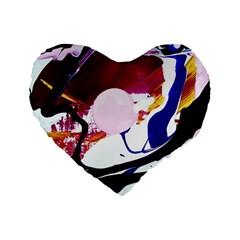 Immediate Attraction 8 Standard 16  Premium Heart Shape Cushions by bestdesignintheworld