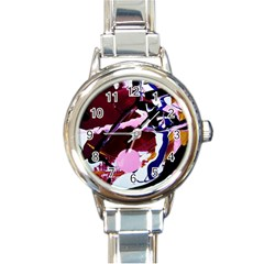Immediate Attraction 1 Round Italian Charm Watch