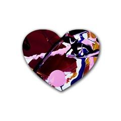 Immediate Attraction 1 Rubber Coaster (heart)