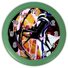 Immediate Attraction 2 Color Wall Clocks