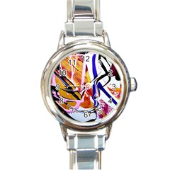 Immediate Attraction 6 Round Italian Charm Watch