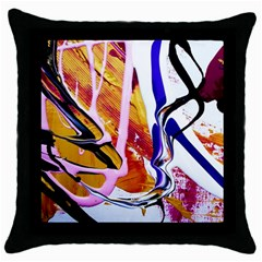 Immediate Attraction 6 Throw Pillow Case (black)
