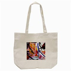 Immediate Attraction 6 Tote Bag (cream) by bestdesignintheworld