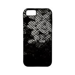 Black And White Dark Flowers Apple Iphone 5 Classic Hardshell Case (pc+silicone)