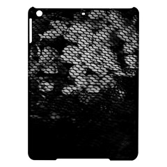 Black And White Dark Flowers Ipad Air Hardshell Cases