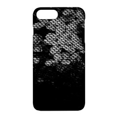 Black And White Dark Flowers Apple Iphone 7 Plus Hardshell Case