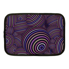 Abtract Colorful Spheres Netbook Case (medium)