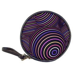 Abtract Colorful Spheres Classic 20 Cd Wallets
