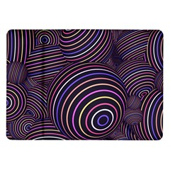 Abtract Colorful Spheres Samsung Galaxy Tab 10 1  P7500 Flip Case