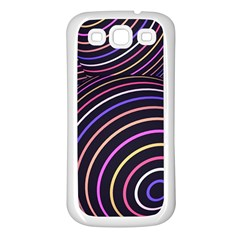 Abtract Colorful Spheres Samsung Galaxy S3 Back Case (white)