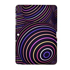 Abtract Colorful Spheres Samsung Galaxy Tab 2 (10 1 ) P5100 Hardshell Case  by Modern2018