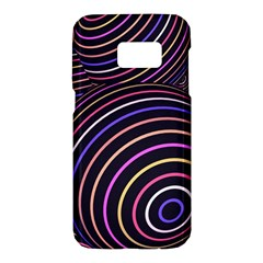 Abtract Colorful Spheres Samsung Galaxy S7 Hardshell Case  by Modern2018