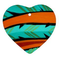 Abstract Art Artistic Ornament (heart)