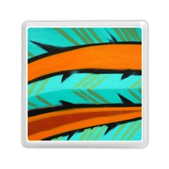 Abstract Art Artistic Memory Card Reader (square)