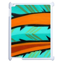 Abstract Art Artistic Apple Ipad 2 Case (white) by Modern2018