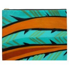 Abstract Art Artistic Cosmetic Bag (xxxl)  by Modern2018