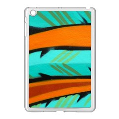 Abstract Art Artistic Apple Ipad Mini Case (white) by Modern2018
