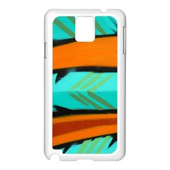 Abstract Art Artistic Samsung Galaxy Note 3 N9005 Case (white)