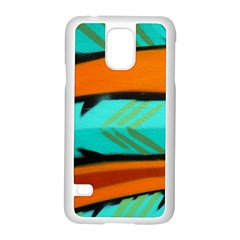 Abstract Art Artistic Samsung Galaxy S5 Case (white)