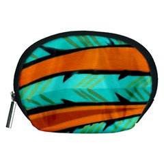 Abstract Art Artistic Accessory Pouches (medium)