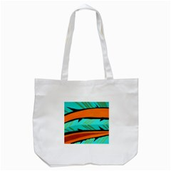 Abstract Art Artistic Tote Bag (white)
