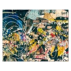 Abstract Art Berlin Rectangular Jigsaw Puzzl