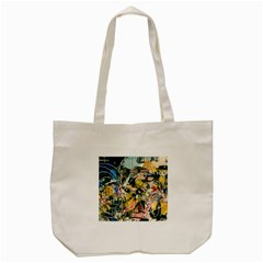 Abstract Art Berlin Tote Bag (cream) by Modern2018
