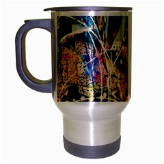Abstract Art Berlin Travel Mug (silver Gray)