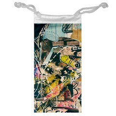 Abstract Art Berlin Jewelry Bag