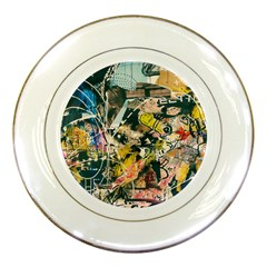 Abstract Art Berlin Porcelain Plates by Modern2018