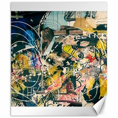 Abstract Art Berlin Canvas 20  X 24