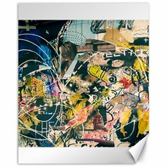 Abstract Art Berlin Canvas 11  X 14
