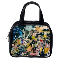 Abstract Art Berlin Classic Handbags (one Side)