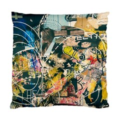 Abstract Art Berlin Standard Cushion Case (one Side)