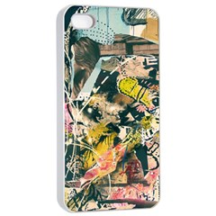 Abstract Art Berlin Apple Iphone 4/4s Seamless Case (white)