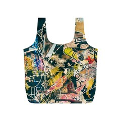 Abstract Art Berlin Full Print Recycle Bags (s)
