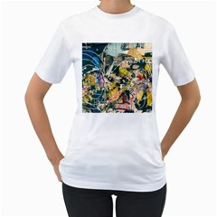Abstract Art Berlin Women s T Shirt (white)