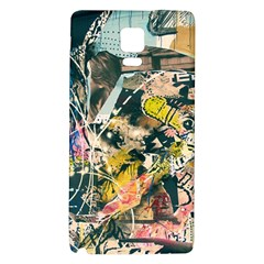 Abstract Art Berlin Galaxy Note 4 Back Case