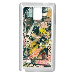 Abstract Art Berlin Samsung Galaxy Note 4 Case (white)