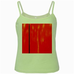Abstract Orange Green Spaghetti Tank by Modern2018