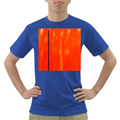 Abstract Orange Dark T Shirt by Modern2018