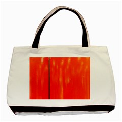 Abstract Orange Basic Tote Bag (two Sides)