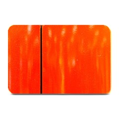 Abstract Orange Plate Mats by Modern2018