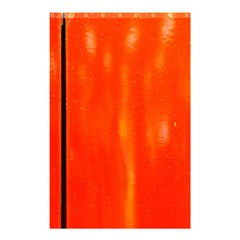 Abstract Orange Shower Curtain 48  X 72  (small)