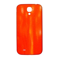 Abstract Orange Samsung Galaxy S4 I9500/i9505  Hardshell Back Case by Modern2018
