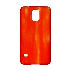 Abstract Orange Samsung Galaxy S5 Hardshell Case