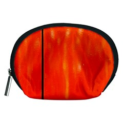 Abstract Orange Accessory Pouches (medium)